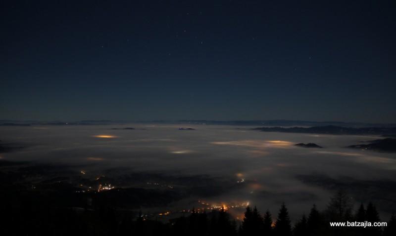Pogled proti jugu; torej proti Ljubljani.